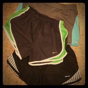 Running Shorts (bundle of 3, size S)